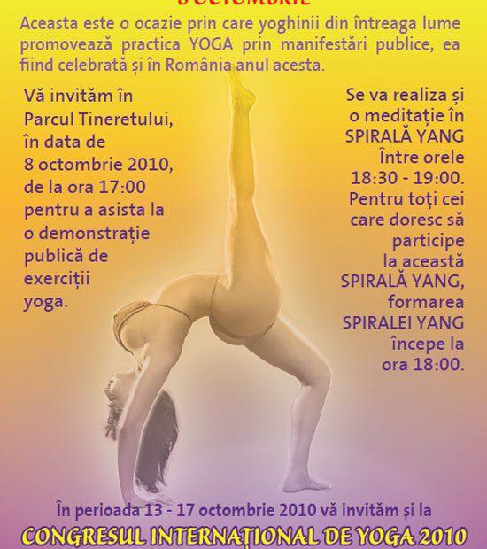 Cine face afișele pentru yoga? 1