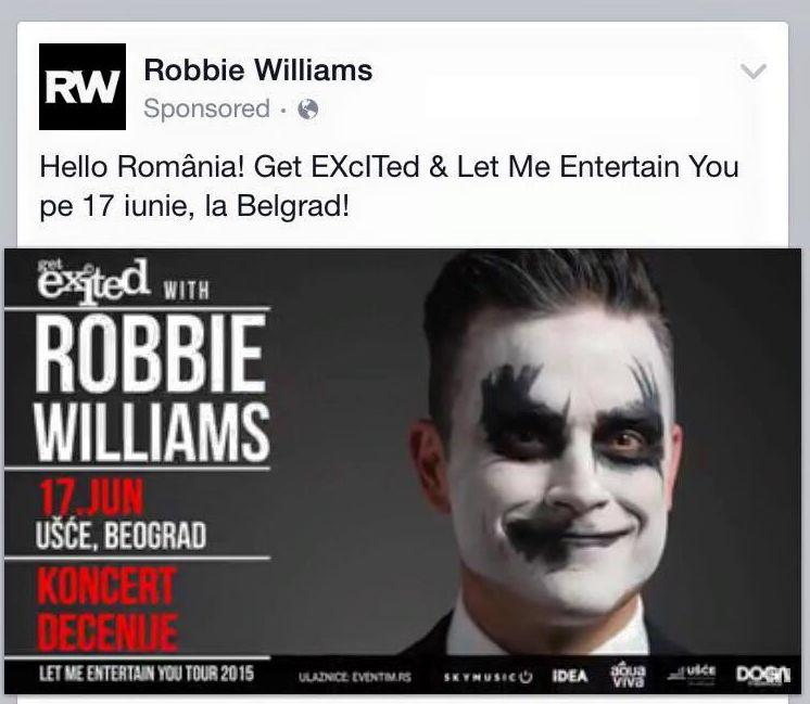 A venit Bacu' și noi râdem de Robbie Williams că nu știe geografie... 1
