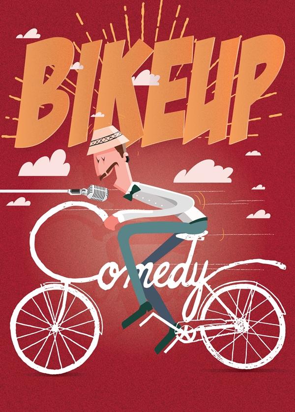 Bike Up Comedy 2016. Pentru copiii de la Edulier 3