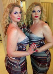 Nu știm dacă e dublă sau o oglindă...