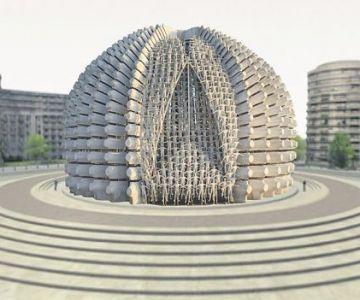 Monument p*zdos pentru 100 de ani de puleală 2