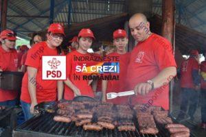 PSD oferind pomană electorală, mici