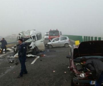accident rutier pe autostrada soarelui