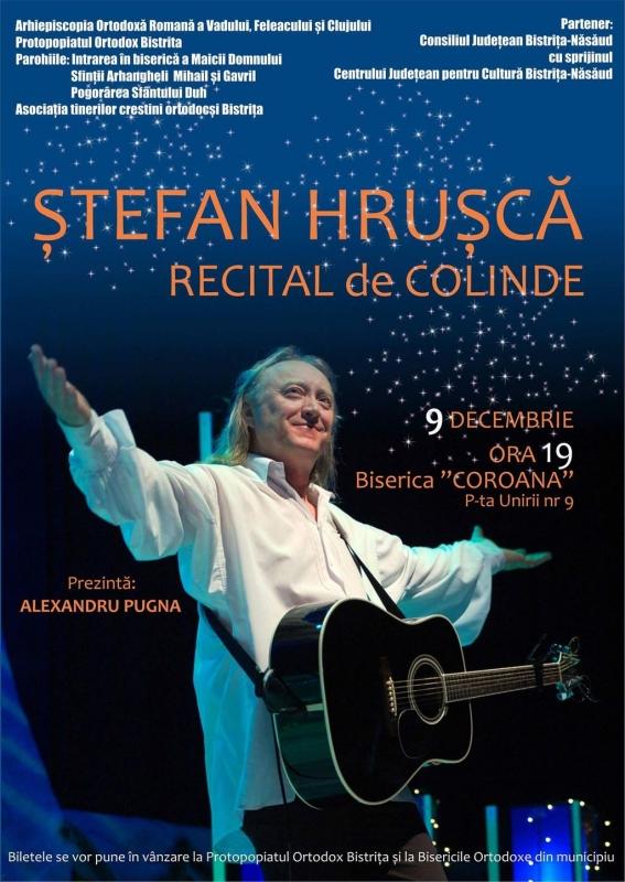 Stefan Hrusca in biserica