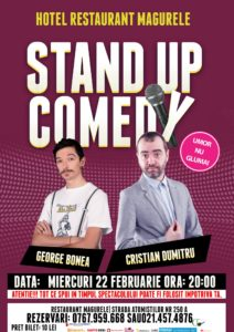 Stand Up Comedy @ Măgurele @ Restaurant Hotel Magurele