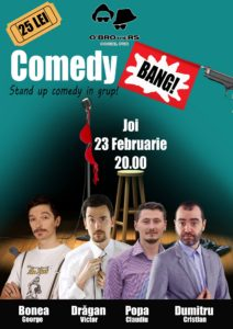 Stand Up Comedy @ Buzău @ O`Brothers
