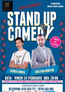 Stand Up Comedy @ București @ La Bibliotecă | București | Municipiul București | România