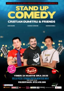 Stand Up Comedy @ București @ Restaurant Bella | București | Municipiul București | România