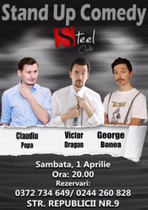 Stand Up Comedy @ Băicoi @ Steel Club | Băicoi | Județul Prahova | România
