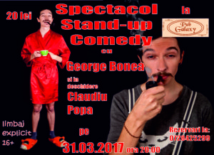 Stand Up Comedy @ Medgidia @ Pub Galaxy