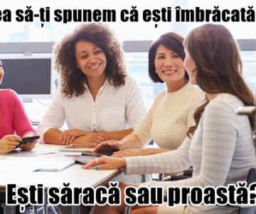 Femeile sunt discriminate la locul de muncă. De femei 2