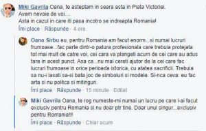 """Oana Sârbu, te rugăm să nu mai faci """"atâtea"""" pentru țară (audio/text) 6"""