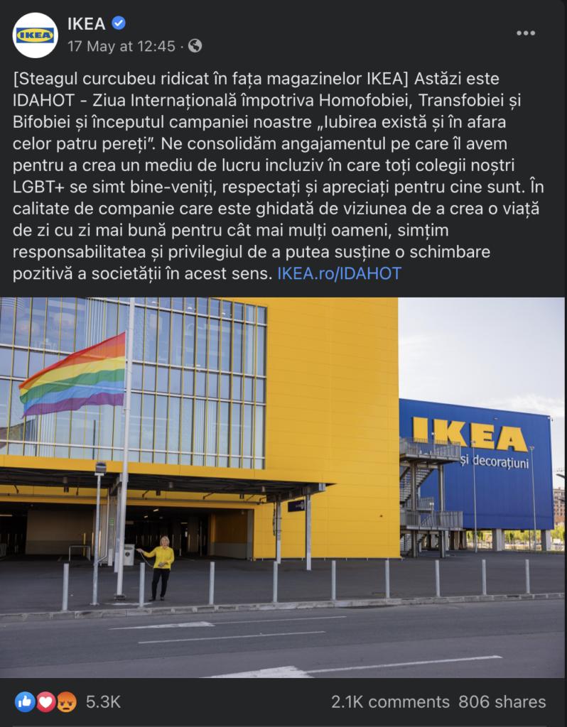 Companii morale și de ce steagul rom n-o să fie arborat la IKEA 1